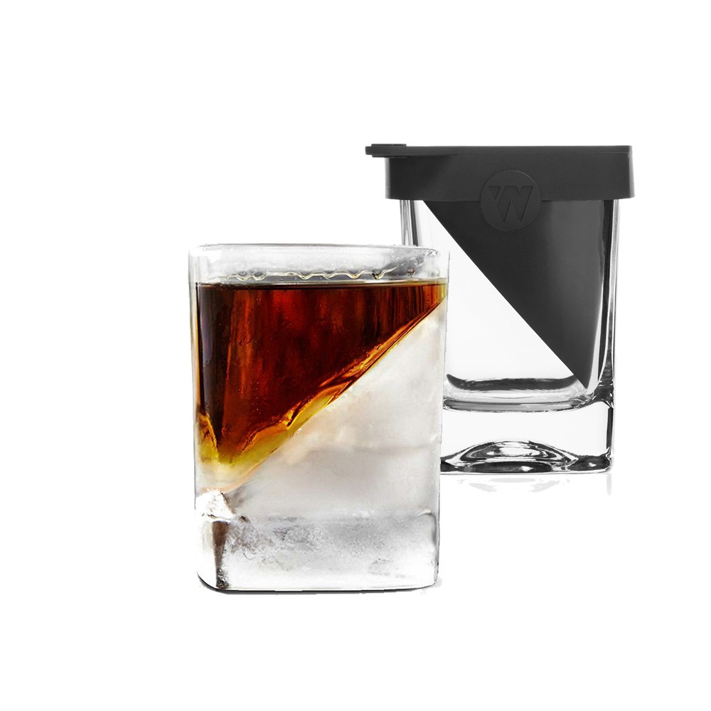 whisky wedge verre whisky refroidisseur corkcicle vin et. Black Bedroom Furniture Sets. Home Design Ideas