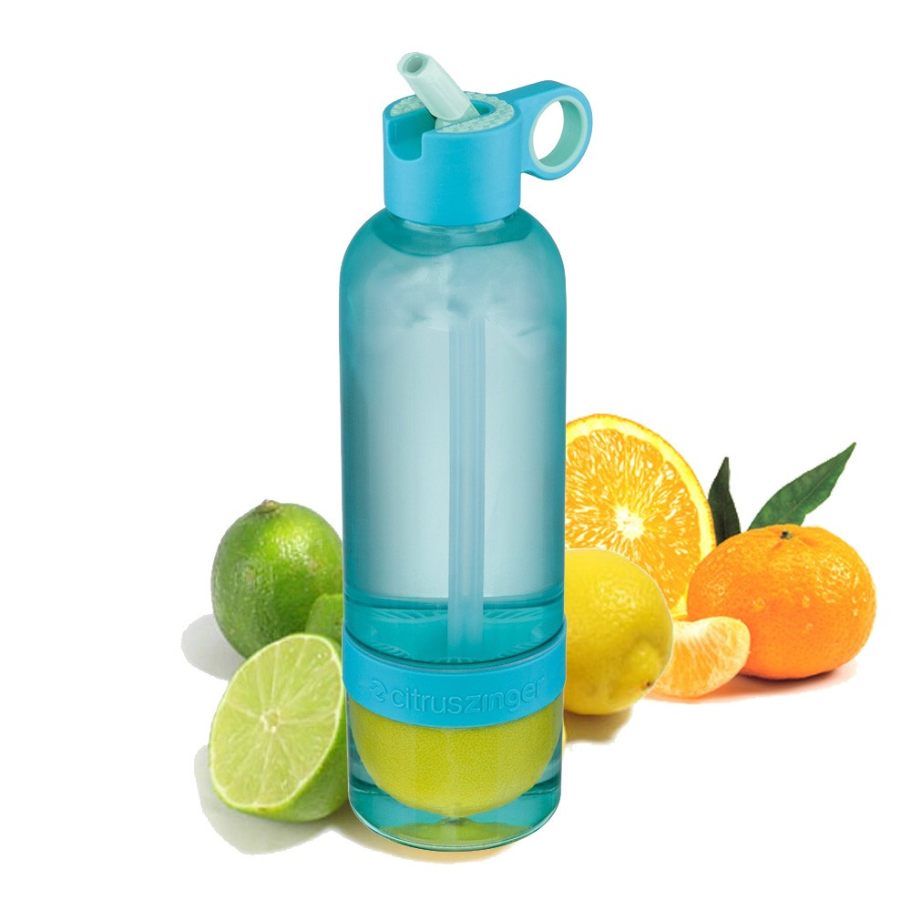 Citrus Zinger Sport, bouteille presse agrume infuseur Zing Anything vinetcuisine